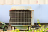 Old condensing unit — Stock Photo