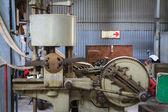 Old planer machine — Stock Photo