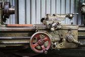 Old lathe machine — Stock Photo