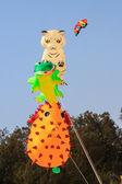 Kite festival on Cha - Am beach, Thailand — Stock Photo