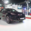 Постер, плакат: Porsche Macar turbo showed in 35th Bangkok International Motor Show