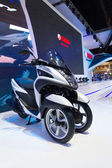YAMAHA Tricity Multi Wheel Concept Bike motorcycle on display at The 35th Bangkok International Motor Show — Stock Photo