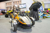 The Can-Am Spyder RS on display at The 35th Bangkok International Motor Show 2014 — Stock Photo