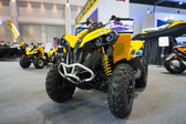 CAN AM new model of ATV four wheel on display at The 35th Bangkok International Motor Show 2014 — Stock Photo