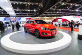 New Edition of Manchester United car of Chevrolet at The 35th Bangkok International Motor Show — Stock Photo