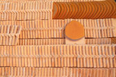 Ceramic roof tile — Stock Photo