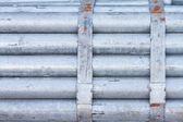 Bundle of Galvanized Steel Pipe — Stock Photo