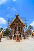 Thai temple during repair — Stock Photo