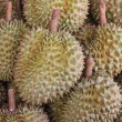Durians in the market — Stock Photo