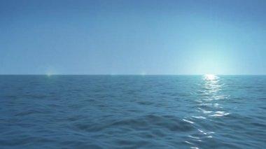 Ocean seamless loop — Stock Video
