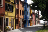 Color constructions of Venice — Stock Photo