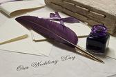 Náš svatební den — Stock fotografie