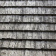 Wooden roof tiles — Stock Photo