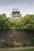 The main keep of Osaka Castle in Osaka, Japan. — Stock Photo