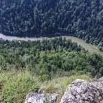 Spectacular river canyon in Pieniny, Poland — Stock Photo #39774179