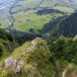 Stock Photo: Breathtaking view from Three Crown Mountain, Pieniny