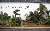 Beautiful bonsai arrangement — Stock Photo