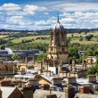 Aerial view of roofs and spires of oxford — Stock Photo #39936959