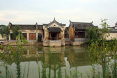 An ancient village in Anhui province, China — Stock Photo
