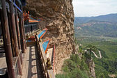 Parts of a Heng Shan Taoist temple complex in North China, near — Stock Photo