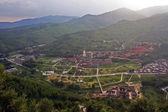 Aerial view of Taihuai (Wutai shan), China — Stock Photo