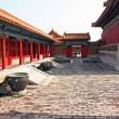 Courtyard of a pavillon in forbidden city, Beijing, China — Stock Photo #41278067