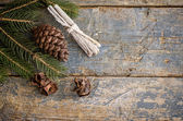 Christmas vintage background — Stock Photo