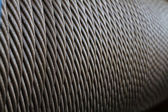 Wire rope texture — Stock Photo