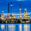 Oil refinery at twilight — Stock Photo #31301161