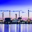 Stock Photo: Oil refinery at Bangkok Thailand