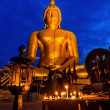 The Beautiful Statue Buddha at Wat Muang Temple Angthong Thailand — Stock Photo