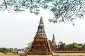 Alte tempel wat chai watthanaram ayutthaya provinz thailands — Stockfoto
