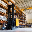Stockfoto: Modern warehouse with forklifts