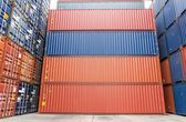 Cargo containers — Stock Photo