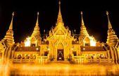 Vesak Bucha Days at Prachuabkirikhan,Bangsaphan in Thailand — Stock Photo