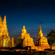 Chaiwatthanaram Temple in Ayutthaya,Thailand — Stock Photo