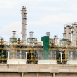 Gas processing factory. gas and oil industry  — Stock Photo