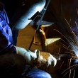 Welder working — Foto Stock
