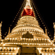 The stupa at Phra Samut Chedi — Stock Photo