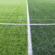 Soccer field grass  — Stock fotografie
