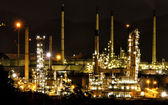 Petrochemické závody — Stock fotografie
