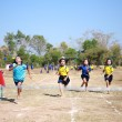 Stock Photo: Unidentified Thai students 4 - 12 years old athletes in action during sport day