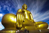 The Big Golden Buddha — Stock Photo