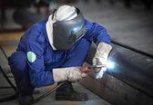 Welding work. — Stock Photo