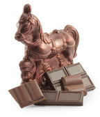 Chocolate horse — Stock Photo