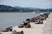 The Shoes River Danube Budapest — Stock Photo