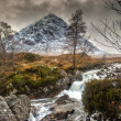 Stock Photo: Buachaille Etive Mor, Glencoe in Winter
