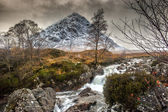 Buachaille Etive Mor, Glencoe in Winter — Stock Photo