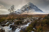 Glencoe in Winter — Stock Photo