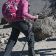 Stock Photo: Lady in Pink Kilimanjaro